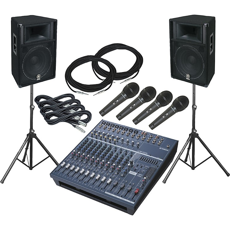 YamahaEMX5014 / S115V PA Package