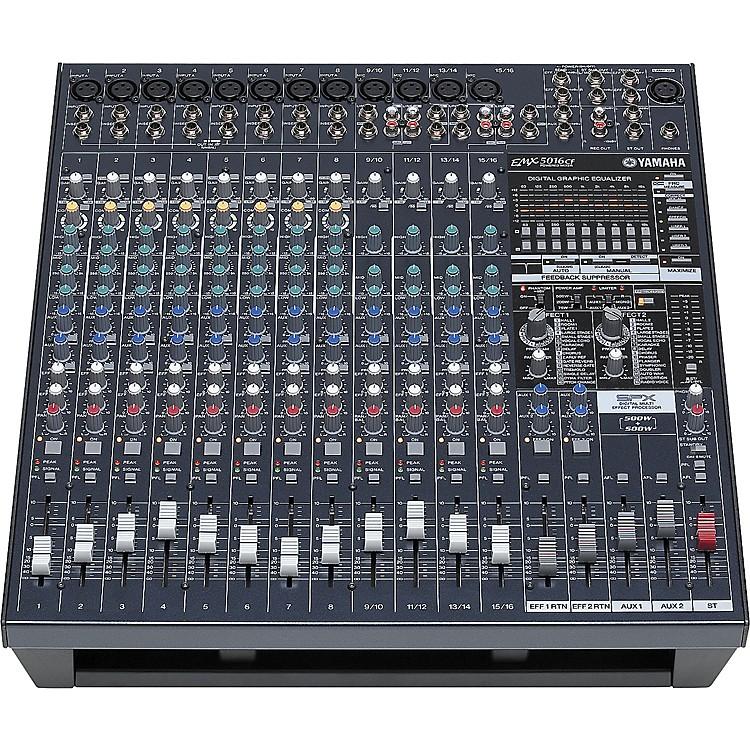 YamahaEMX5016CF 16-Input Powered Mixer with Dual 500 Watt Power Amps