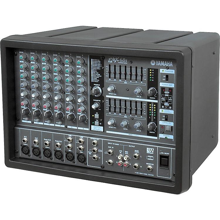 Yamaha EMX68S 6-Channel Powered Mixer | Music123