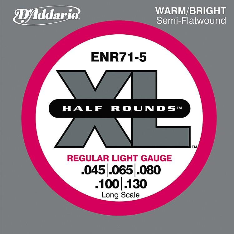 D'AddarioENR71-5 Half Rounds Light 5-String Bass Strings