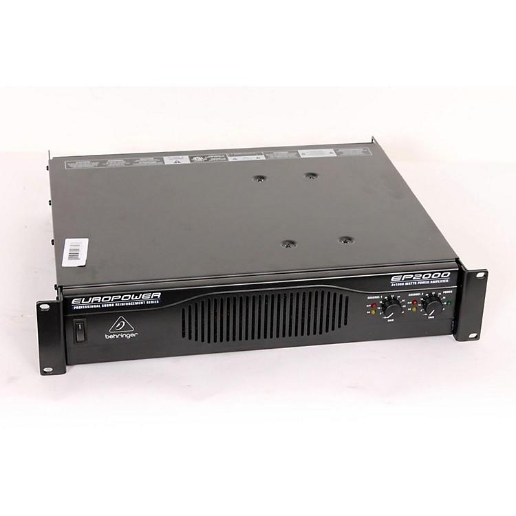 BehringerEP2000 EUROPOWER Power Amp888365093697