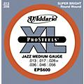 D'Addario EPS600 ProSteels Jazz Medium Electric Guitar Strings