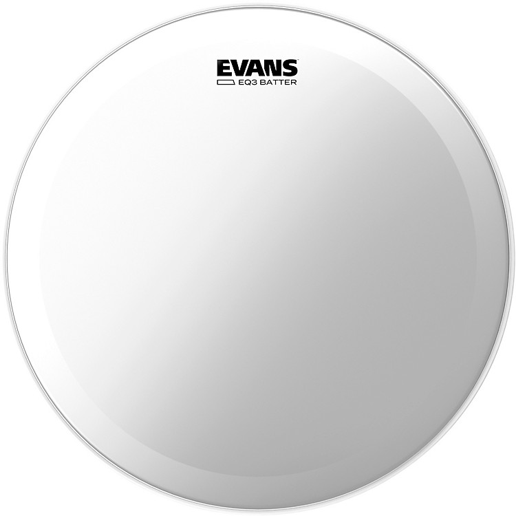 Evans EQ3 Batter Clear Bass Head