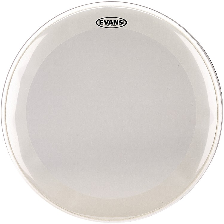 EvansEQ4 Batter Frosted Bass Drumhead18 in.