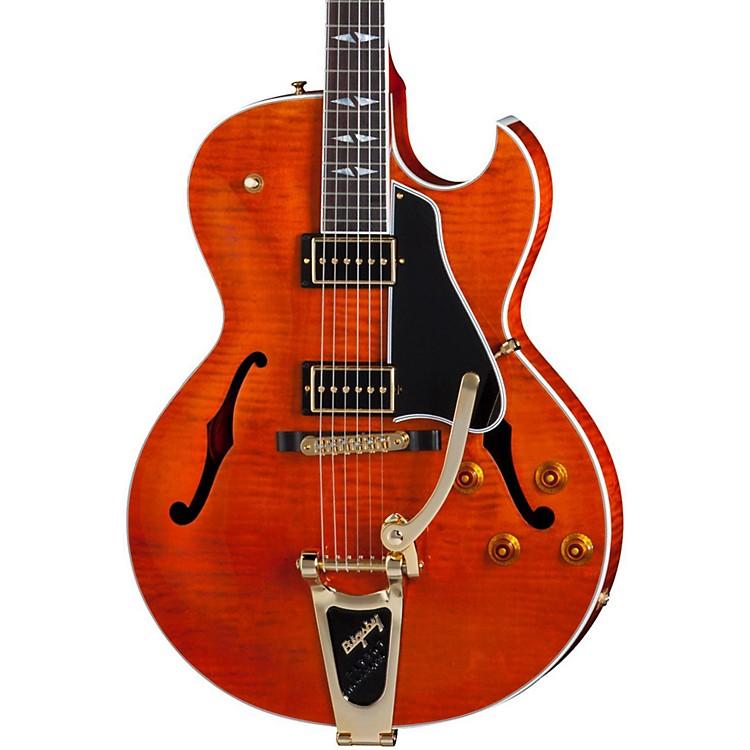 GibsonES-195  Rockabilly Figured Electric Guitar