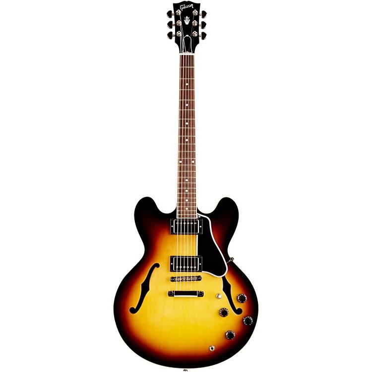 GibsonES-335 Dot Plain-top Electric Gtr w/ Gloss FinishVintage Sunburst