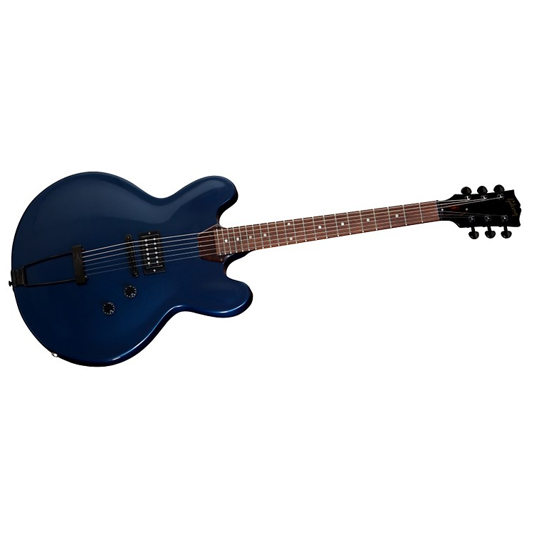 Gibson ES-335 Studio Electric Guitar With Trapeze Midnight Blue