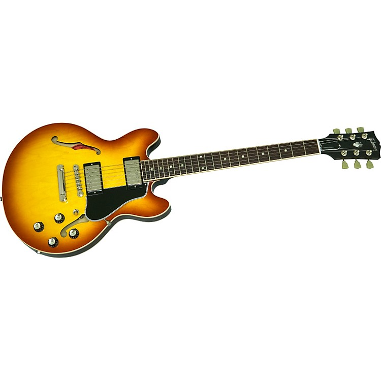 GibsonES-339 Semi-Hollow Electric Guitar with '59 Rounded Profile NeckLight Caramel Burst