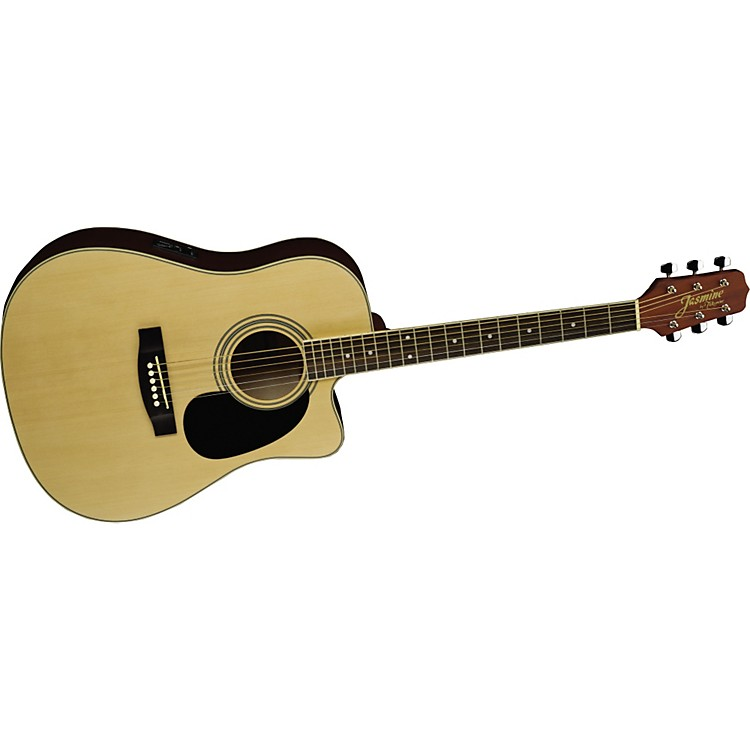 Jasmine ES35C Dreadnought Acoustic-Electric Guitar