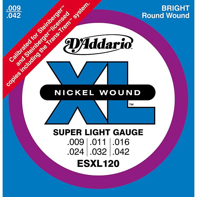 D'AddarioESXL120 Nickel Double Ball End Super Light Electric Guitar Strings