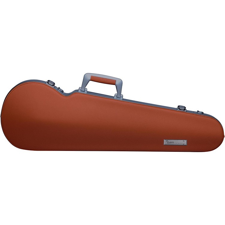 Bam ET2200XL L'Etoile Contoured Hightech Adjustable Viola Case Cognac
