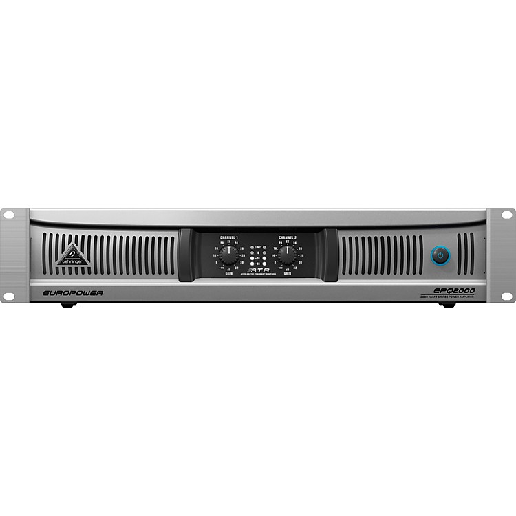 Behringer EUROPOWER EPQ2000 2000W Stereo Power Amplifier
