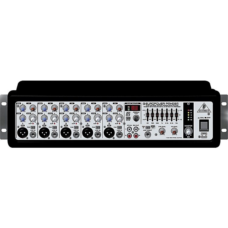 behringer europower pmh518m ultra compact powered mixer music123. Black Bedroom Furniture Sets. Home Design Ideas