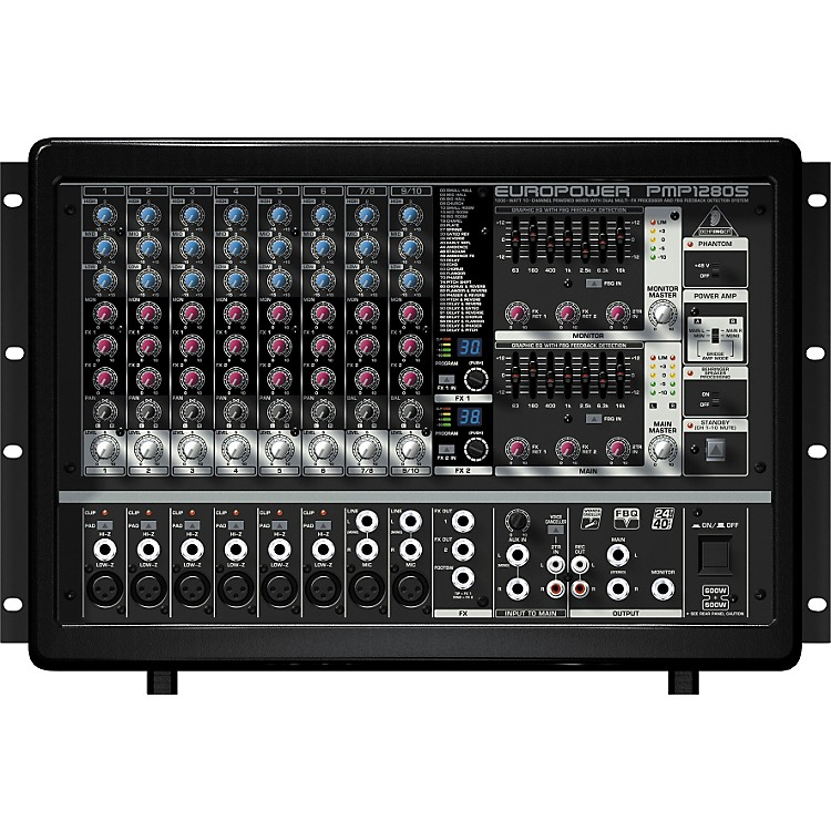 Behringer EUROPOWER PMP1280S Powered Mixer Pmp1280S