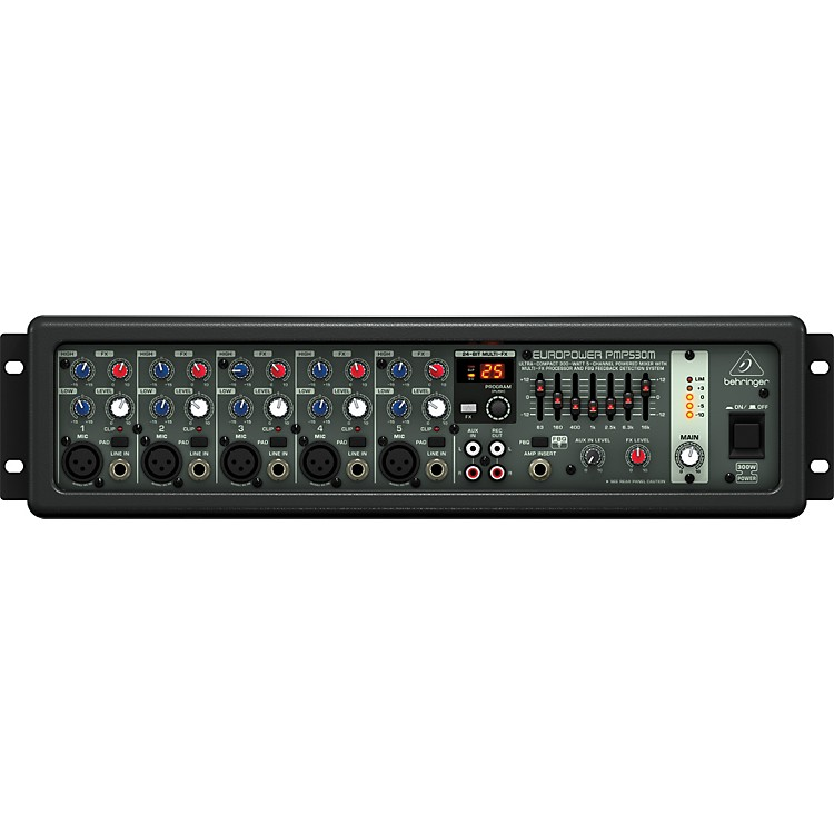 Behringer EUROPOWER PMP530M 5-Channel Powerd Mixer
