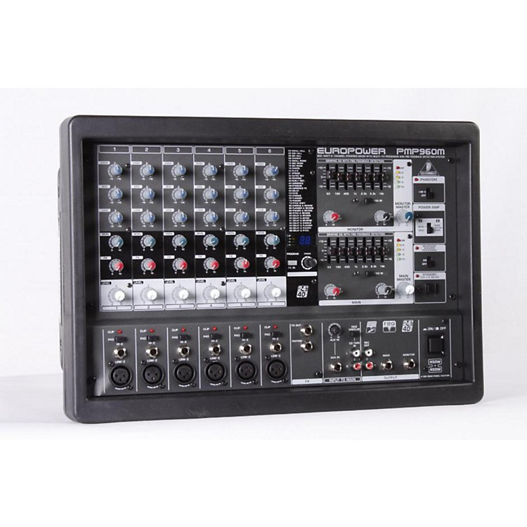 Behringer EUROPOWER PMP960M Powered Mixer Regular 886830703447