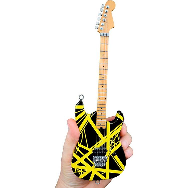 Unique EngineeringEVH Bumblebee (Black and Yellow) Miniature Replica Guitar - Van Halen Approved