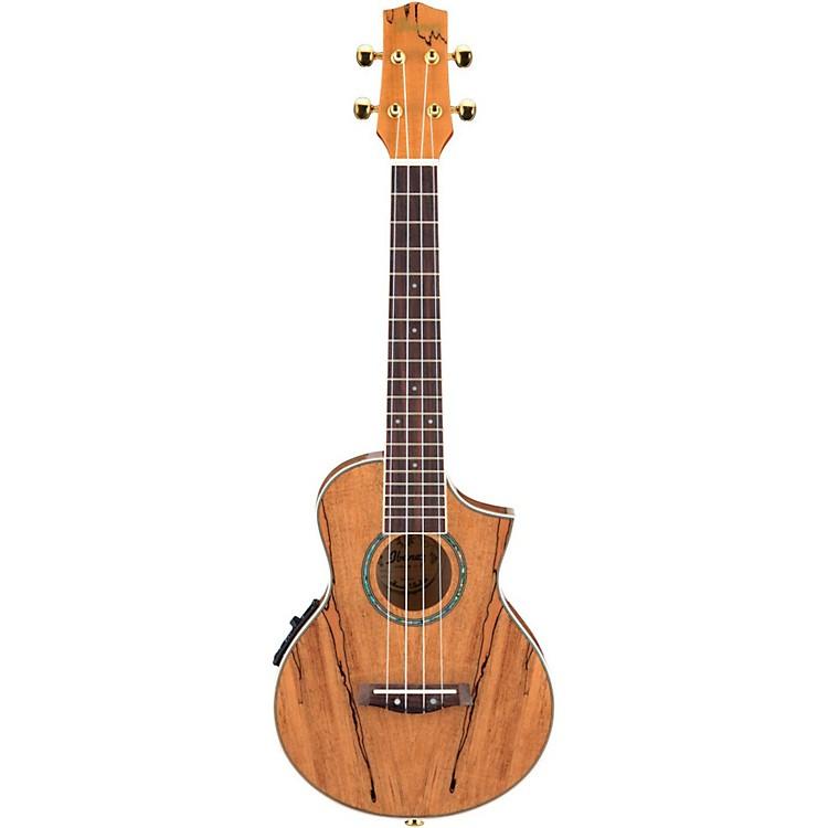 IbanezEW Cutaway Concert Acoustic-Electric Ukulele With Bag