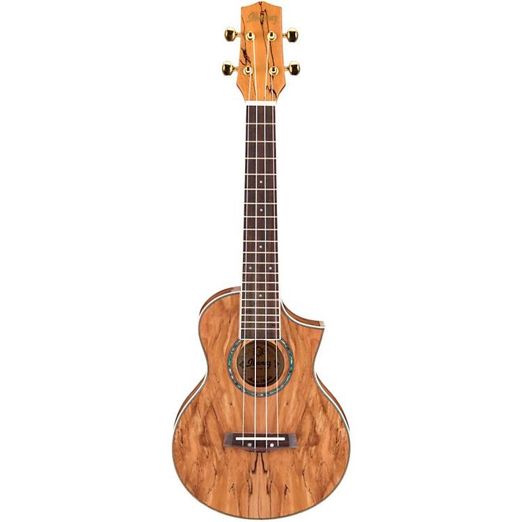 IbanezEW Cutaway Concert Acoustic Ukulele With Bag