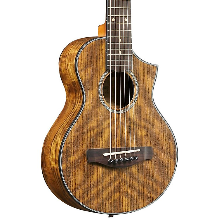 IbanezEWP14OPN Exotic Wood Piccolo Acoustic GuitarNatural