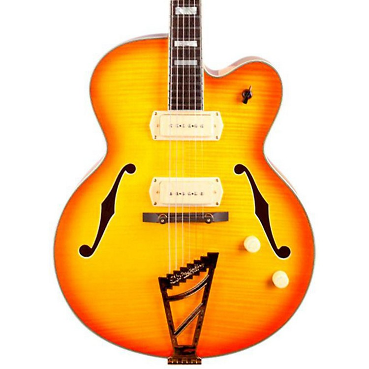 D'Angelico EX-59 Hollowbody Electric Guitar Sunburst