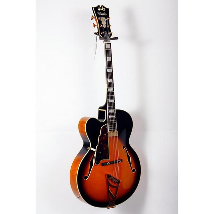 D'AngelicoEXL-1  Left-Handed Hollowbody Electric GuitarSunburst Sunburst888365826820