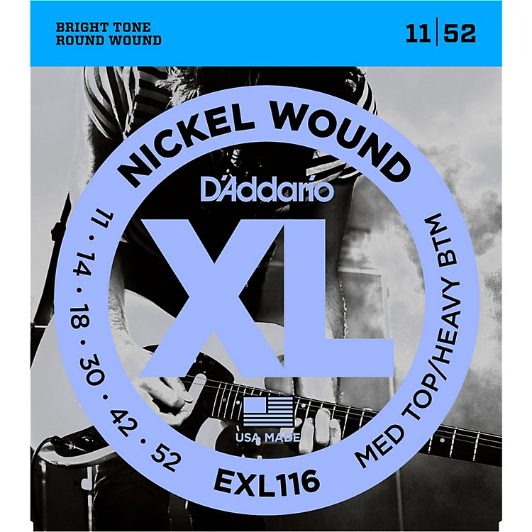 D'AddarioEXL116 XL Electric Guitar Strings Medium Top/Heavy Bottom