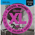 D'Addario EXL120-E Bonus Pack: Super Light Electric Guitar Strings with Bonus High E String (9-42)