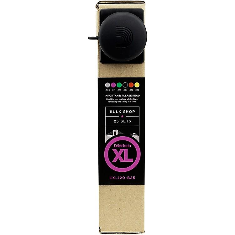 D'AddarioEXL120 Guitar Strings Bulk -Pack Super Light  25 Sets25 Sets