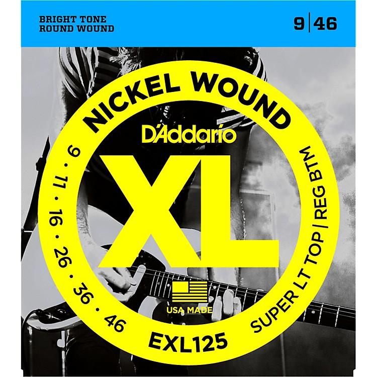 D'AddarioEXL125 Super Light Top/Regular Bottom Electric Guitar Strings
