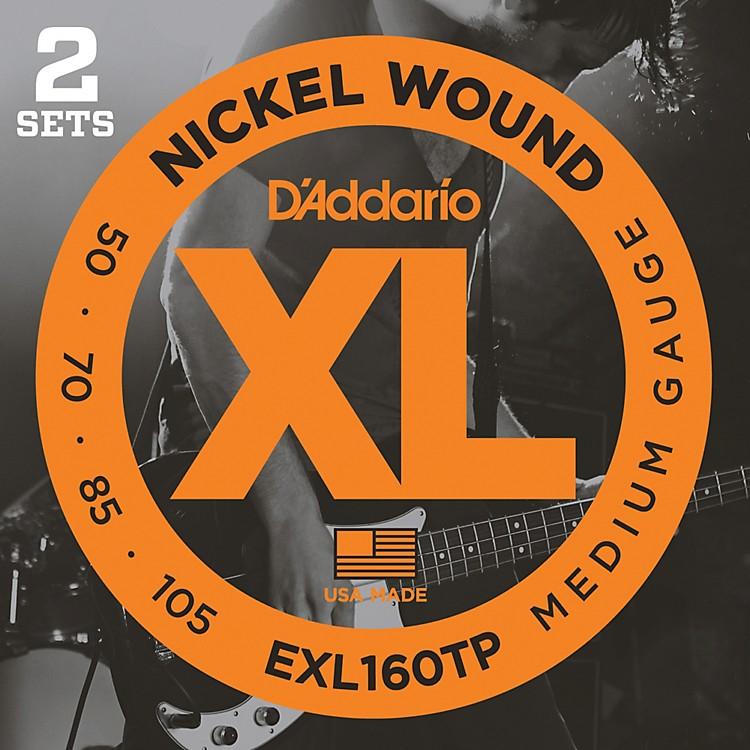 D'AddarioEXL160TP Twin-Pack Bass Guitar Strings