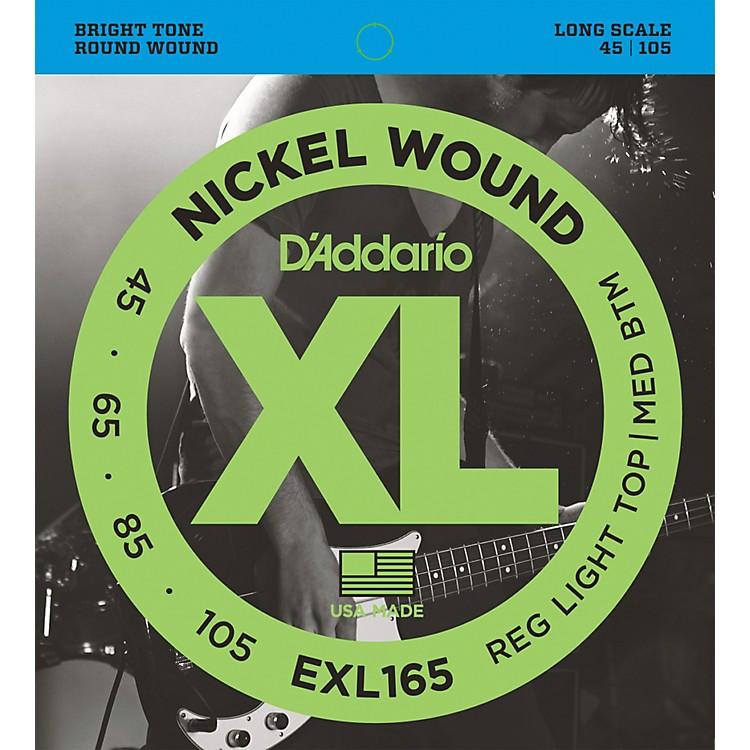 D'AddarioEXL165 XL Nickel Round Wound Soft/Regular Bass Strings