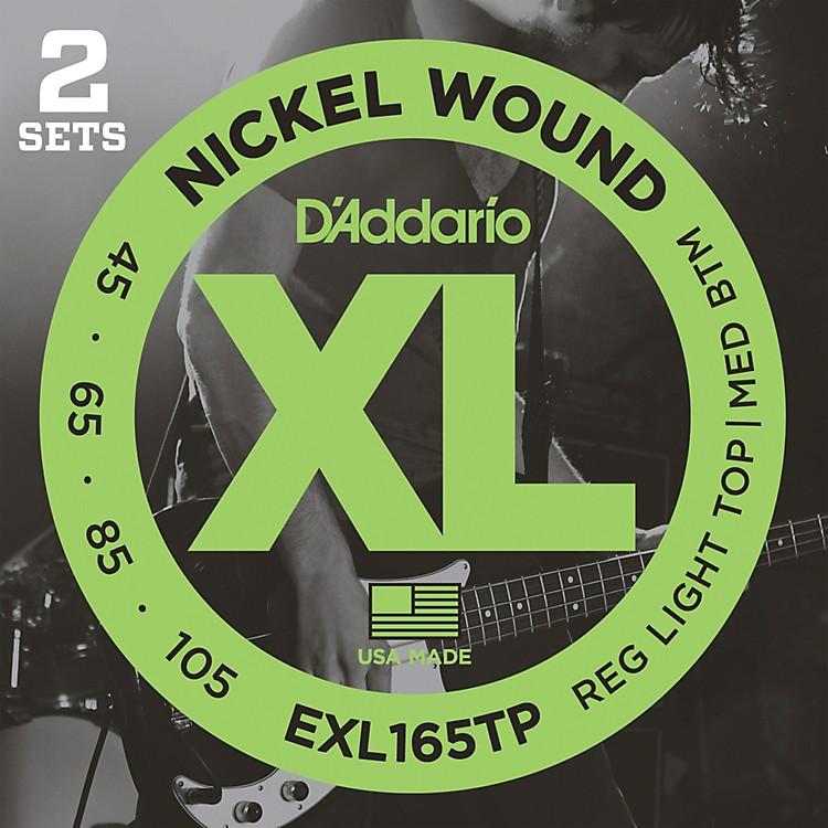D'AddarioEXL165TP Twin-Pack Bass Guitar Strings
