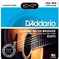 EXP11 Coated 80/20 Bronze Light Acoustic Guitar Strings
