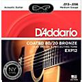 EXP12 Coated 80/20 Bronze Medium Acoustic Guitar Strings