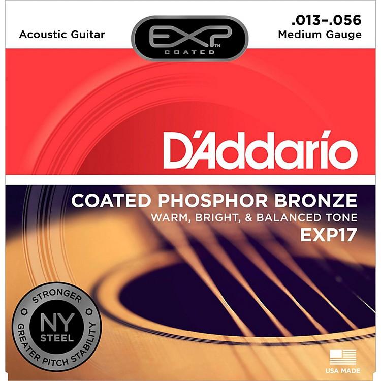 D'AddarioEXP17 Coated Phosphor Bronze Medium Acoustic Guitar Strings