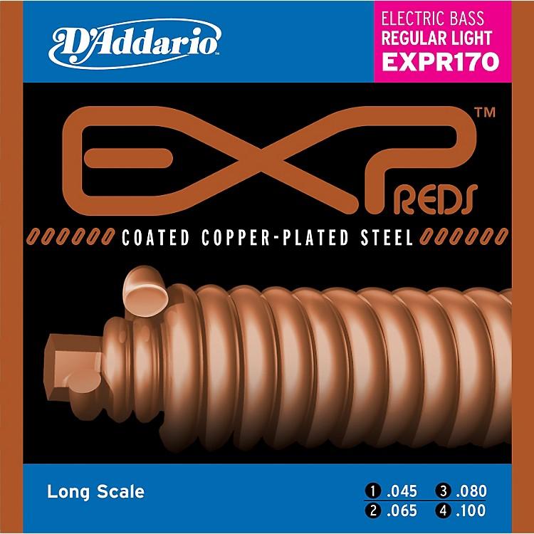 D'AddarioEXPR170 EXP Reds Regular Light Gauge Bass Strings