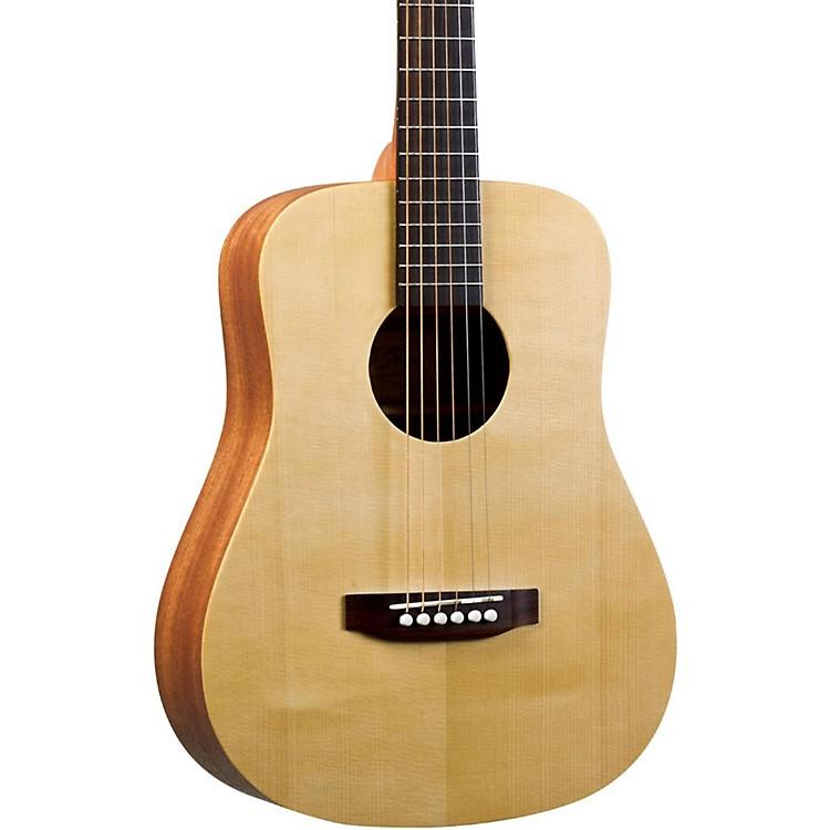 Recording KingEZ Tone RD-A3MQ Mini Dreadnought Acoustic GuitarNatural