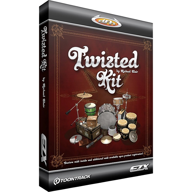 Toontrack EZXpansion-Twisted Kit