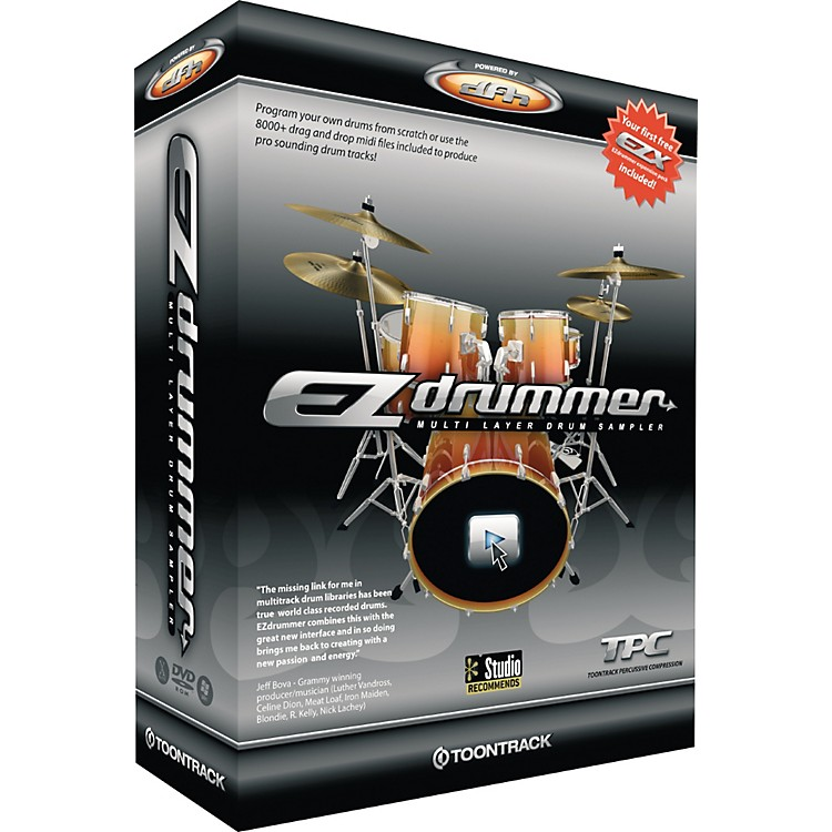 Toontrack EZdrummer Multi Layer Drum Sampler