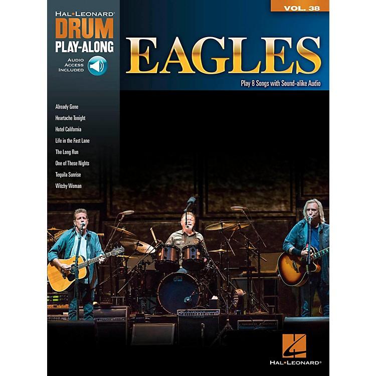 Hal LeonardEagles - Drum Play-Along Volume 38 (Book/Online Audio)