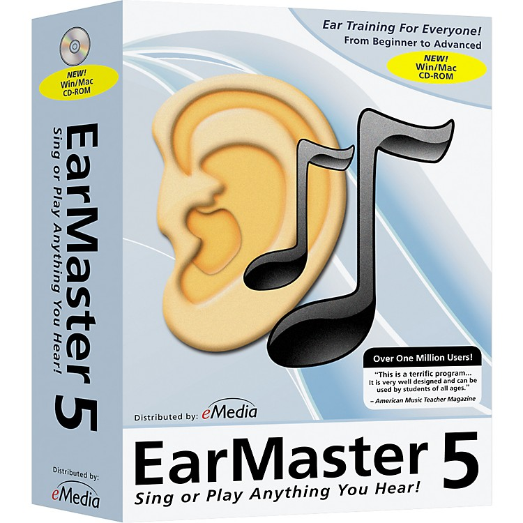 eMedia EarMaster School 5 CD-Rom - 5-User Lab Pack
