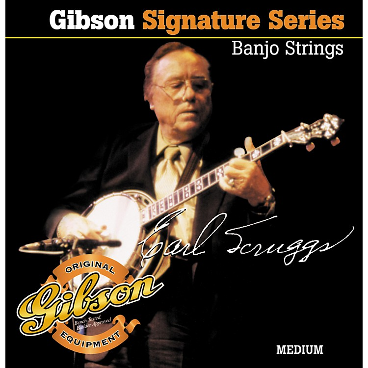 Gibson Earl Scruggs Signature Medium Banjo Strings