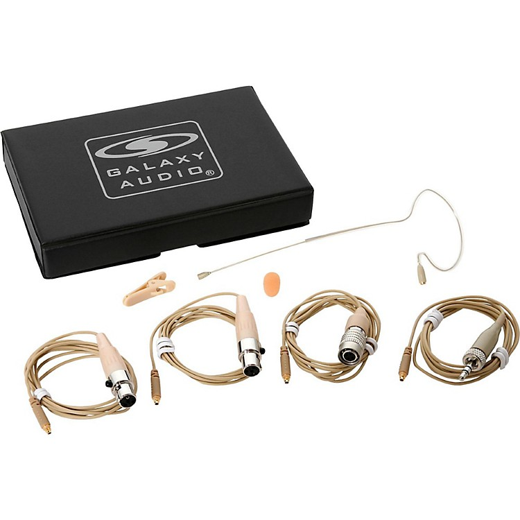 Galaxy AudioEarset Mic 4 Cables-Mixed
