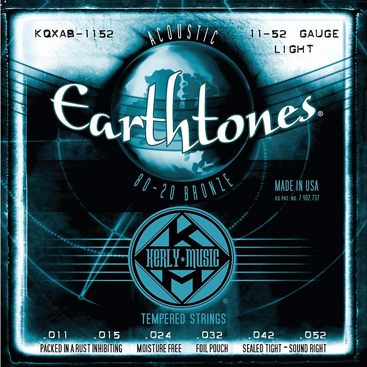 Kerly Music Earthtones 80/20 Bronze Acoustic Guitar Strings - Light Gauge
