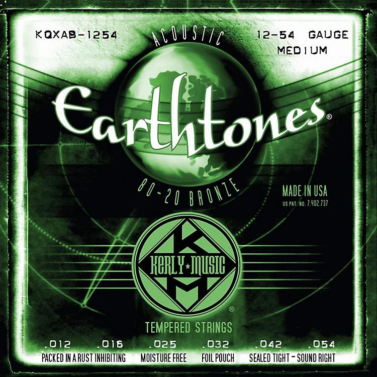 Kerly MusicEarthtones 80/20 Bronze Acoustic Guitar Strings - Medium Gauge