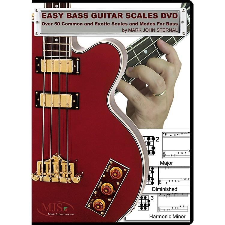 MJS Music PublicationsEasy Bass Guitar Scales (DVD)