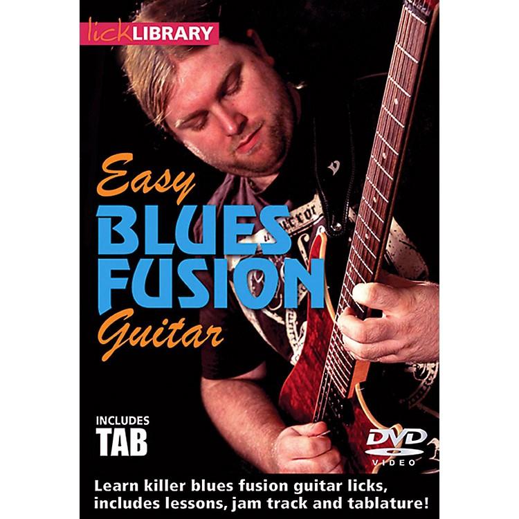 Hal LeonardEasy Blues Fusion Guitar Lick Library DVD