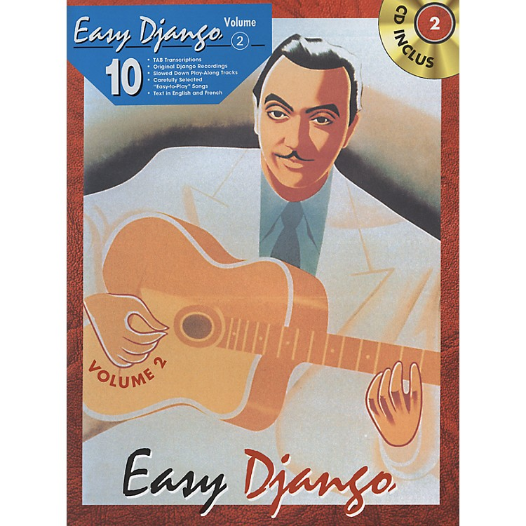 Alfred Easy Django - Volume 2 (Book/CD)