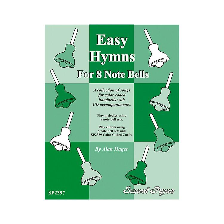 Rhythm BandEasy Hymns - 12 Hymns for 8 Note Handbells & Deskbells Book with CD